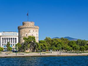Видео тур по городу Салоники, Греция