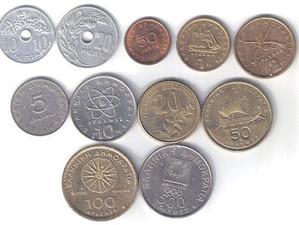 История денежной единицы Греции