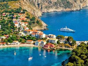 Греческая деревня, которая выглядит как картинка