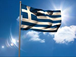 Почему греческий флаг бело-голубой?