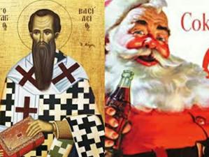 Άι Βασίλης vs Santa Claus