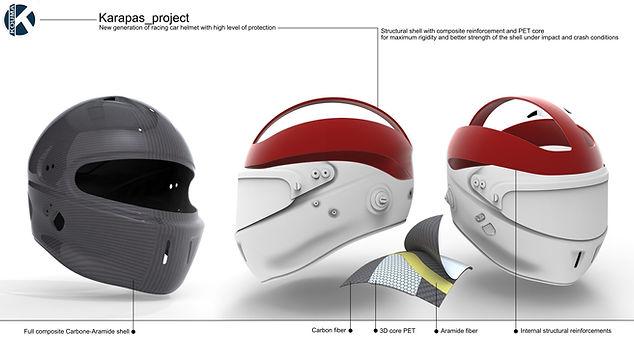 Kouma Karapas helmet