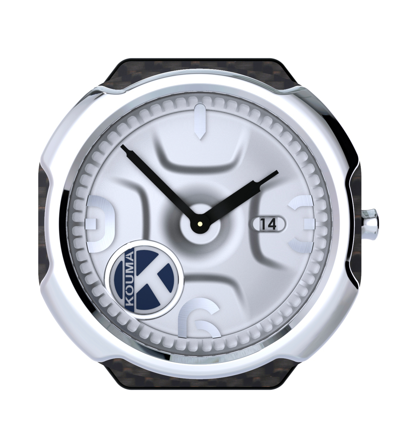 Kouma AL-C Watch Carbon