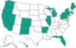US states with cannabis and 1620 marketing