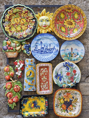 small-group-tours-italy-shopping-ceramic