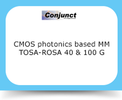 CMOS photonics based MM TOSA-ROSA 40 & 100 G