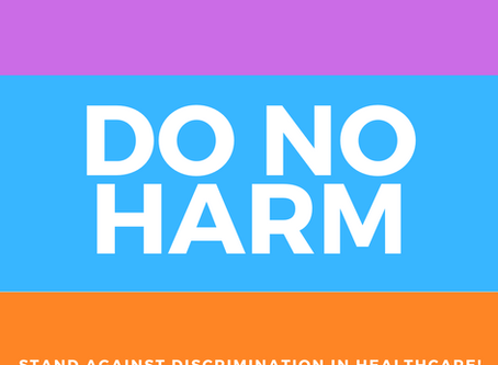No Healthcare discrimination  DDP Press Release