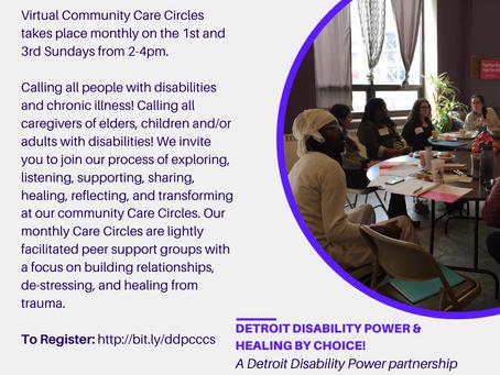 VIRTUAL COMMUNITY CARE CIRCLES