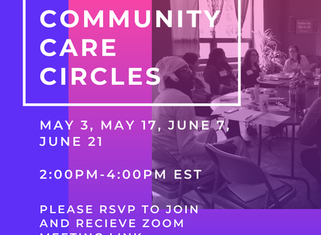 Community Care Circles RE: COVID-19 pandemic