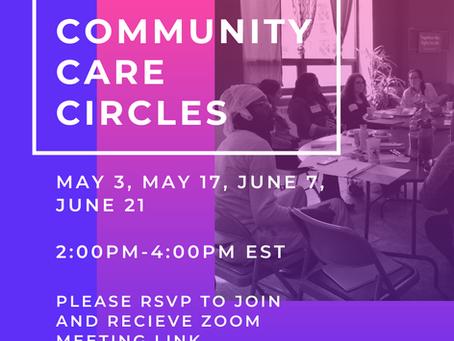 Community Care Circles RE: COVID-19 pandemic