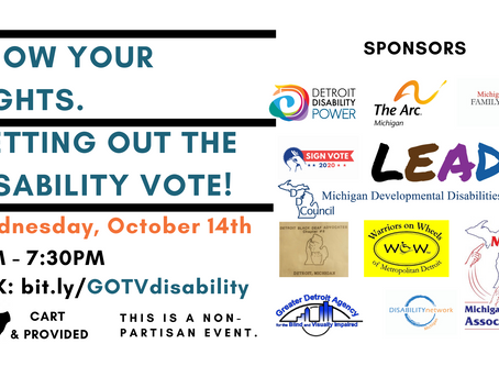 Know Your Rights: Getting Out the Deaf & Disabled Vote! Virtual Workshop