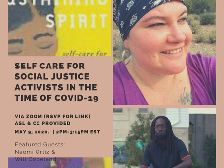 Virtual Book Reading & Conversation Feat. Author Naomi Ortiz & facilitated by William Copeland