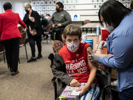 Small COVID-19 vaccination clinics offer hope for those with developmental disabilities