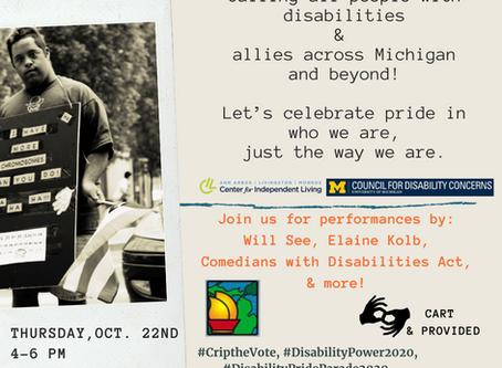 Disability Pride Parade!