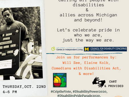 Disability Pride Parade!