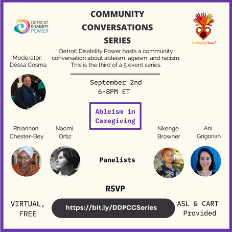 Community Conversation Series #3