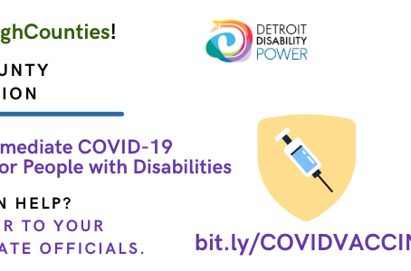 Take Action! Cross-County, Cross Disability COVID-19 Campaign