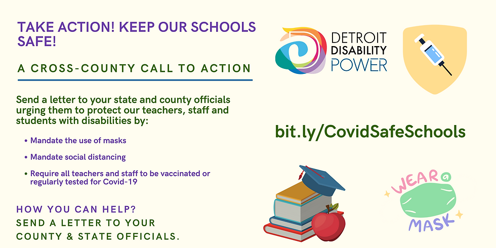 Banner Demand COVID-19 Vaccination prioritized for students and People with Disabilities (