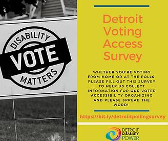 Detroit Polling Location Survey 2019 (2)