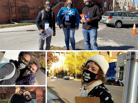 DDP Team at the Detroit Polls today!