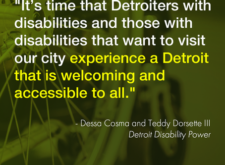 See DDP's oped about the Office of Disability Affairs in the Detroit Free Press