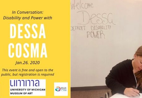 In Conversation: Disability and Power with Dessa Cosma