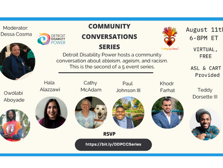 Community Conversation Series