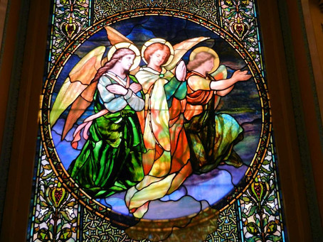 San Francisco Columbarium Stained Glass, Part 1