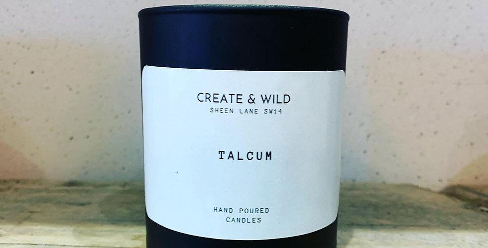 CREATE & WILD CANDLE, Talcum