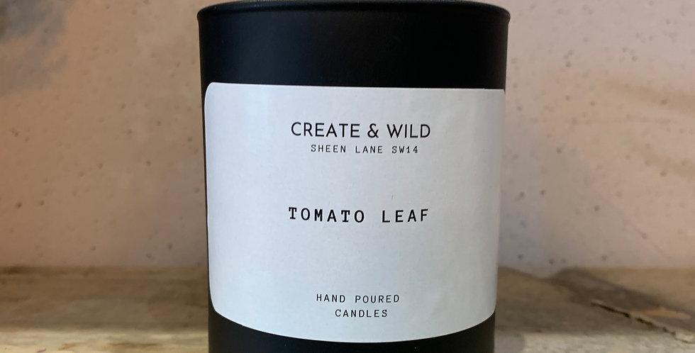 CREATE & WILD CANDLE TOMATO LEAF