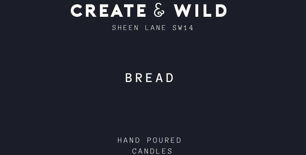 CREATE & WILD CANDLE, BREAD