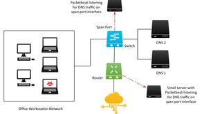 Graylog ile DNS isteklerinin izlenmesi ve zararlı yazılımların algılanması.