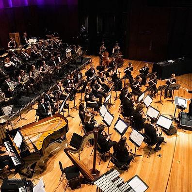 QLD Conservatorium Wind Orchestra. Jess Hall Music