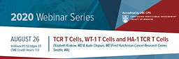 TCR T Cells, WT-1 T Cells and HA-1 TCR T Cells
