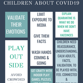 Talking to Children about COVID19