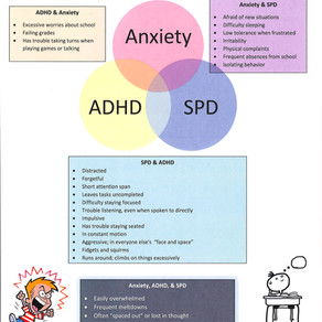 When they all look alike: ADHD, Anxiety, & SPD.