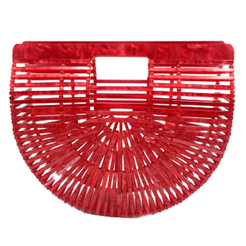 Red Acrylic Ark Bag