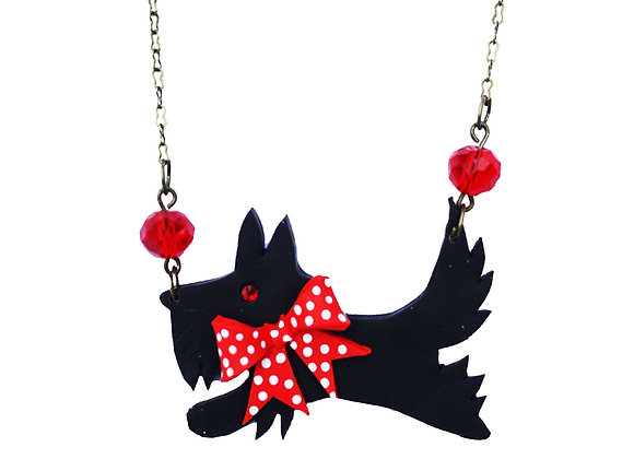Scottie Dog Necklace