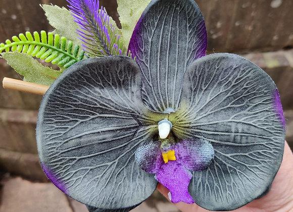Orchid Hair Clip