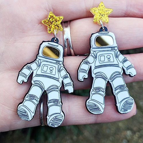 Astronaut Earrings