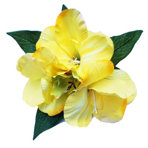 Yellow hair flower guns n posies yellow hair flower mightylinksfo