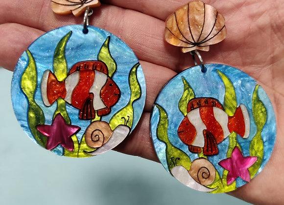 Clownfish Earrings