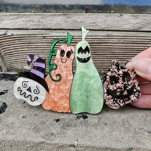 Gourd Family Necklace