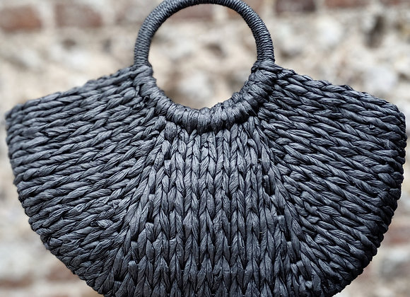 Black Woven Bag Base