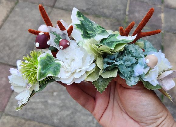 Ivy antler crown