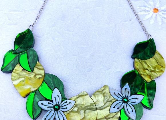 Lemon chain necklace