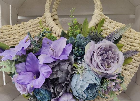 Lilac & Lavender Bag Corsage