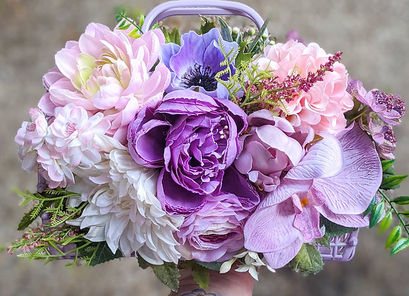 Pink & Purple Bag