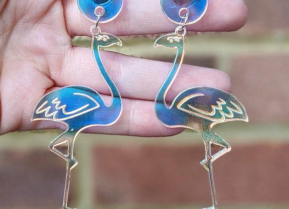 AB Flamingo Earrings
