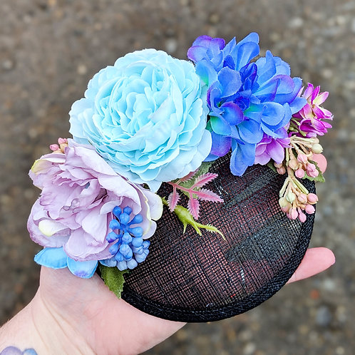 Pastels Floral Fascinator